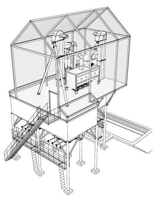 Зерноочистительный комплекс ЗАВ-40