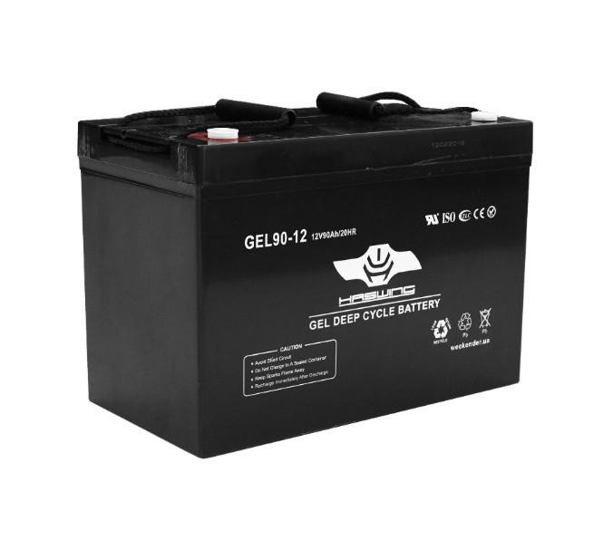 Гелевый аккумулятор для лодочного электромотора Haswing 90Ah 12V вес-275кг 90Ah gel H