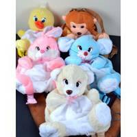 Мягкая игрушка-рюкзак ЗОО в форме животных №17004,игрушка-рюкзак,детские подарки,товары для детей