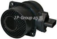 Расходомер воздуха Volkswagen VW Caddy1,9TDI 2,0SDI AudiA3/4 Golf IV/V Passat T5 SKODA JP GROUP 1193900700