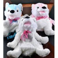 Мягкая игрушка-рюкзак Волк №17078,игрушка-рюкзак,детские подарки,товары для детей