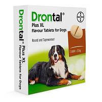 Bayer Drontal Plus XL таблетки от глистов для собак (цена за 1 таблетку)