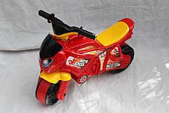 Детский беговел - мотоцикл красный 5118