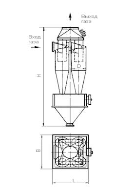ЦН-15-750-4СП Циклон