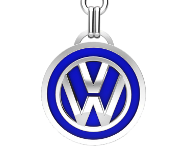 Брелок серебряный VW (Volkswagen) 91006