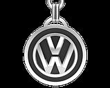 Брелок серебряный VW (Volkswagen) 91006, фото 2