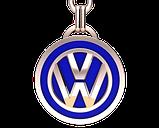 Брелок серебряный VW (Volkswagen) 91006, фото 3