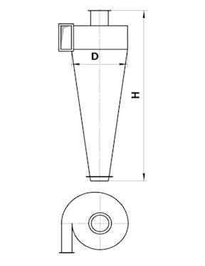 Циклон СДК-ЦН-33-2400