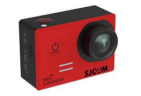 Экшн камера SJCam SJ5000X 4K оригинал (красный)