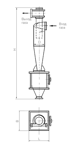 ЦН-15-500-1УП Циклон