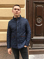 Ветровка куртка Мужская на синтепоне классика весна осень молодежная
