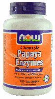 Папайя Энзимы, Now Foods, Papaya Enzymes, 180 Lozenges