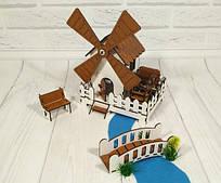 Набор игровой мебели Сказочная Мельница (механическая)