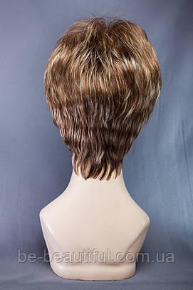 Короткие парики №9,цвет мелирование светло-русый с карамелью