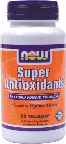 Супер Антиоксиданти, Now Foods, Super Antioxidants, 60 Veggie Caps
