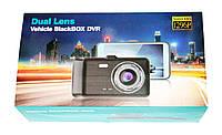Автомобильный видеорегистратор DVR GT500 Full HD с камерой заднего вида, фото 7