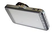 Автомобильный видеорегистратор DVR GT500 Full HD с камерой заднего вида, фото 3