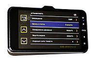 Автомобильный видеорегистратор DVR GT500 Full HD с камерой заднего вида, фото 4
