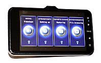 Автомобильный видеорегистратор DVR GT500 Full HD с камерой заднего вида, фото 2