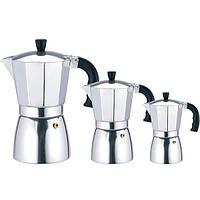 Кофеварка гейзерная Maestro MR-1667-3 (150мл) (на 3 чашки)