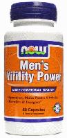 Поддержка Мужского Здоровья, Now Foods, Mens Virility Power, 60 Caps
