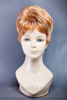 Короткие парики №6,цвет мелирование золото с блондом