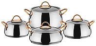 Набор посуды (набор кастрюль) 8 предметов Lessner 55846