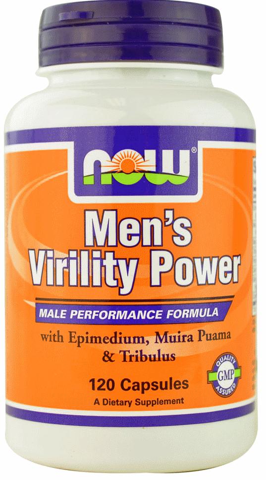 Підтримка Чоловічого Здоров'я, Now Foods, Mens Virility Power, 120 Caps