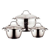 Набор посуды (набор кастрюль) 6 пр. Lessner Coni 55826