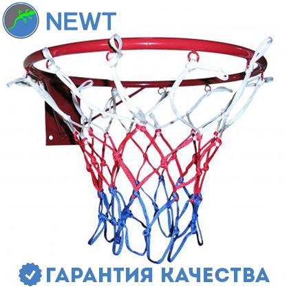 Кольцо баскетбольное усиленное Newt 450 мм, сетка в комплекте