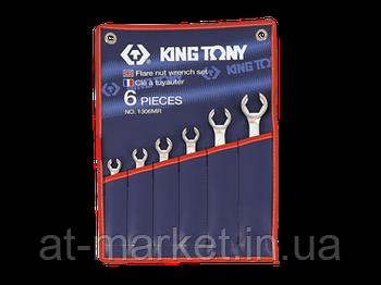 Набір ключів розрізних King Tony 6 шт. (8-22 мм) 1306MR