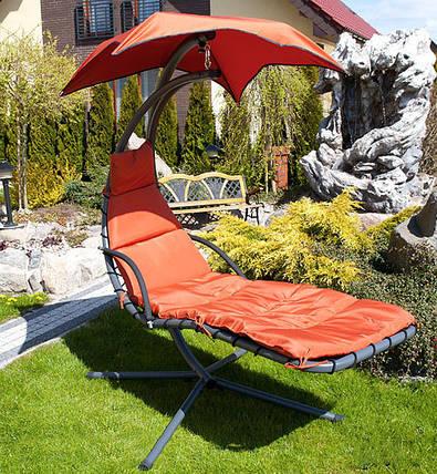 Гамак садовый deLUX, оранжевый, фото 2