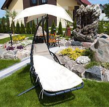 Гамак садовый deLUX, оранжевый, фото 3