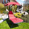 Гамак садовый deLUX, оранжевый, фото 4