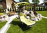 Гамак садовый deLUX, фисташковый, фото 3