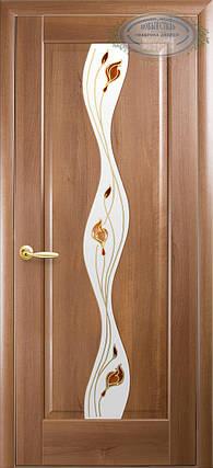 Двери Новый Стиль Волна + Р1 золотая ольха, коллекция Маэстра Р, фото 2