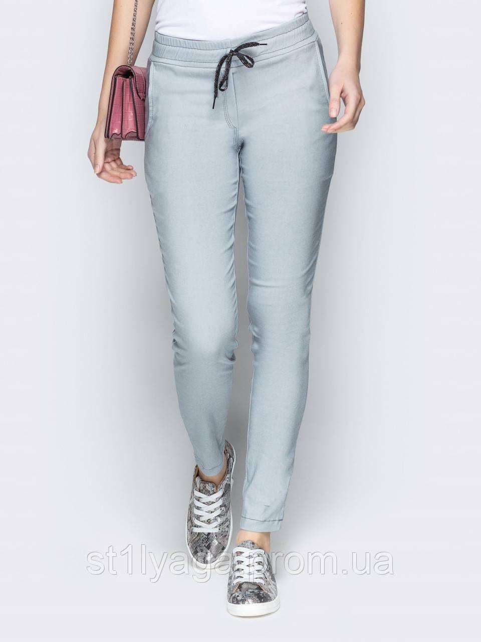 Зауженные брюки  со средней посадкой ВЕСНА