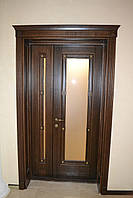 Двері з натурального дерева на замовлення Соборні