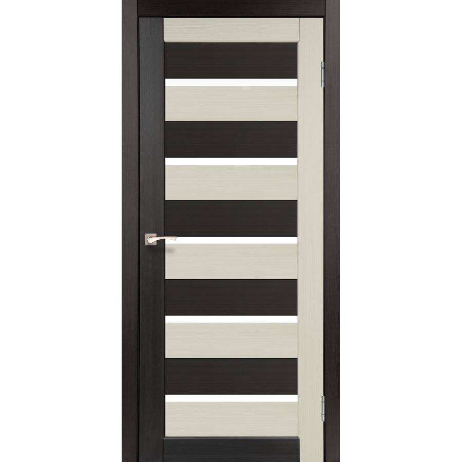Двери KORFAD PC-05 Полотно+коробка+2 к-та наличников+добор 100мм, эко-шпон