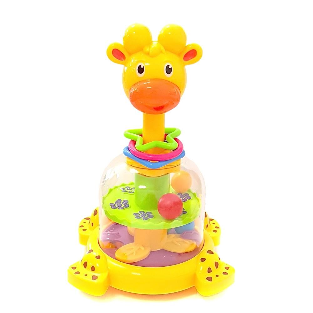 Игрушка погремушка Жираф Юла