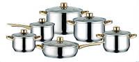 Набор посуды (набор кастрюль) 12 пр. Peterhof PH-15132