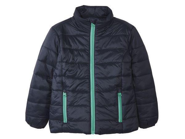 Куртка для мальчика синяя без капюшона Lupilu р.98, 104см