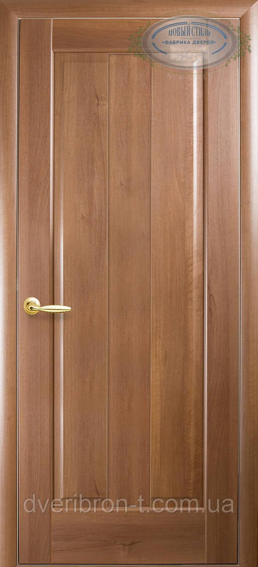 Двери Новый Стиль Премьера глухое золотая ольха, коллекция Маэстра Р