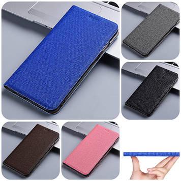 """Samsung A8s G8870 оригинальный чехол книжка противоударный металл вставка на телефон """"ROJINS"""""""