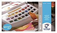 Набор акварельных красок, VAN GOGH Botanical Colours, 24кюветы, пластик, Royal Talens