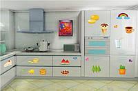 Интерьерная наклейка на кухню Вкусняшки