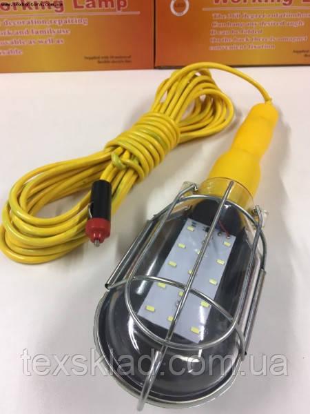 Лампа ліхтаря для автомобіля універсальна WD041 15Led (живлення 12V)