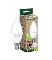 Свеча Лампа светодиодная ENERLIGHT С37 9Вт 4100K E14 ш.к 4823093503816