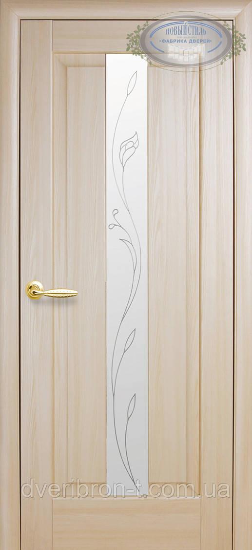 Двери Новый Стиль Премьера + Р2 ясень, коллекция Маэстра Р