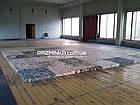 Спортивное покрытие для зала (жесткое) Изолон блок 100х100х10см, фото 2